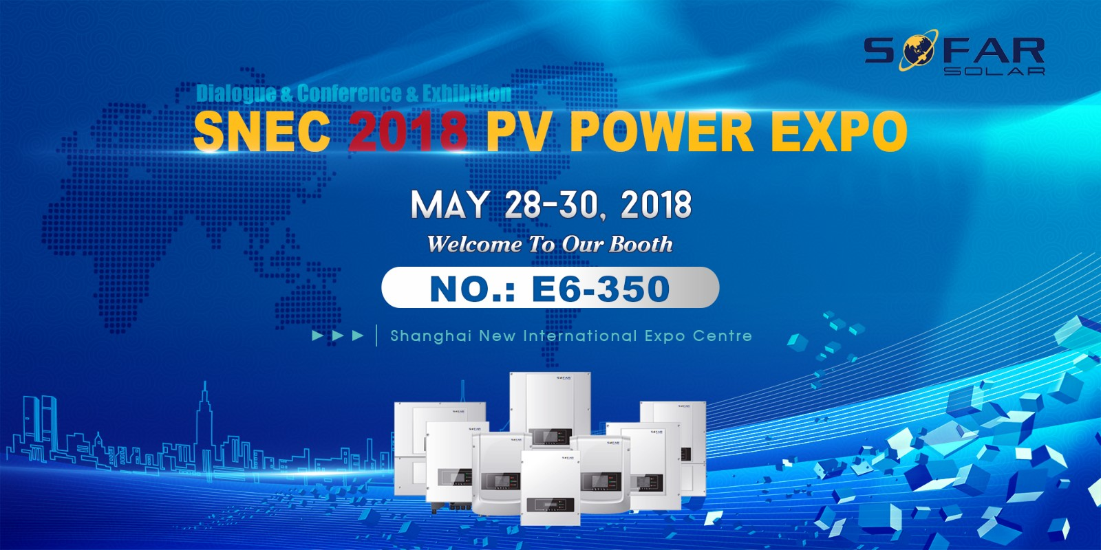 SNEC 2018 PV POWER EXPO, Shanghai