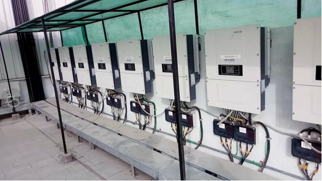 Sofarsolar provides inverters to India's 1MW photovoltaic power station, laying a central position in Indian market