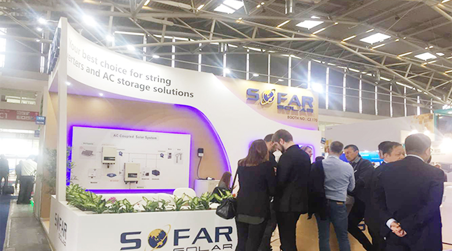 Sofarsolar shows new products and strength at intersolar 2019