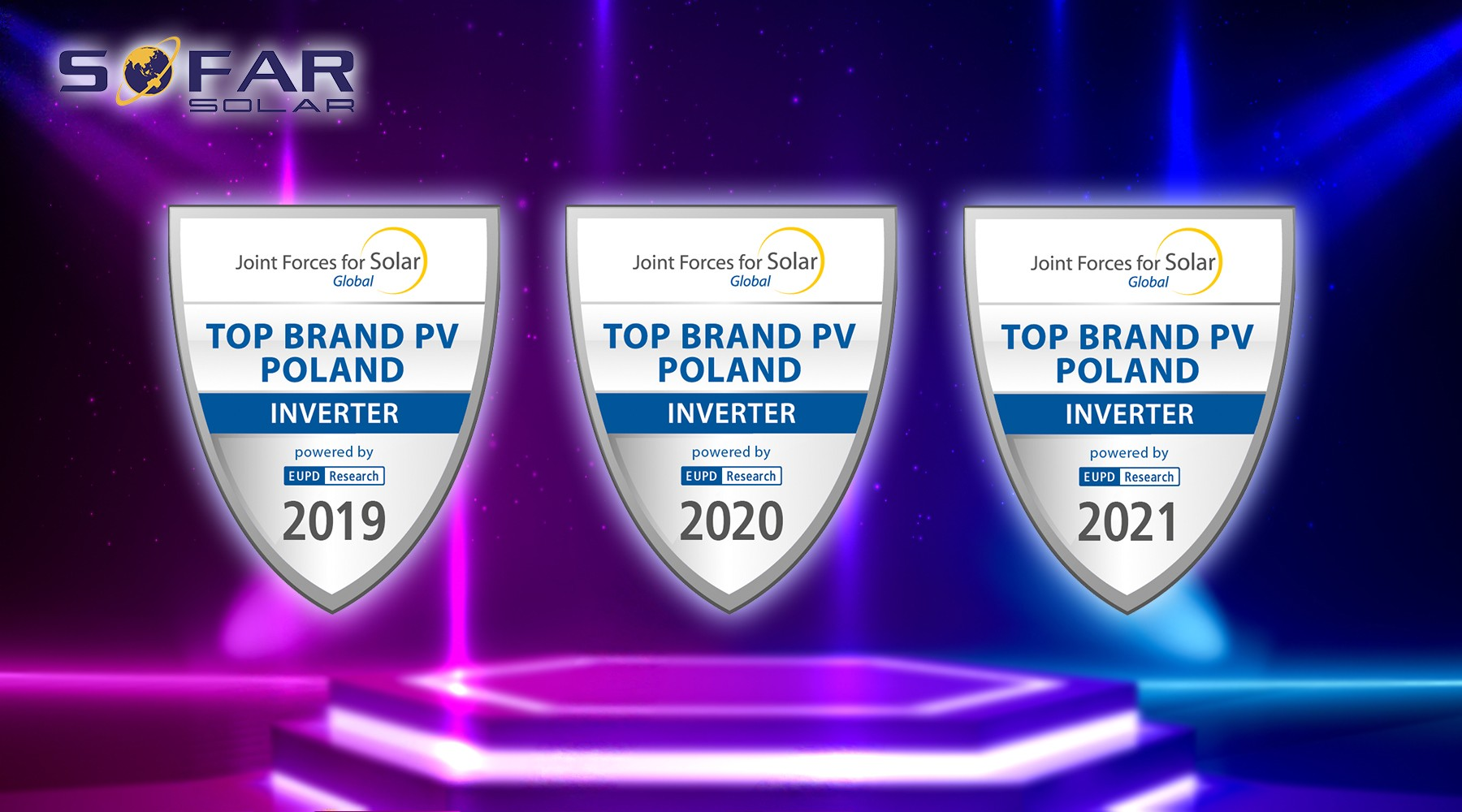 "SOFARSOLAR's  Three Consecutive Years of ""Top Brand Inverter"" in Poland"